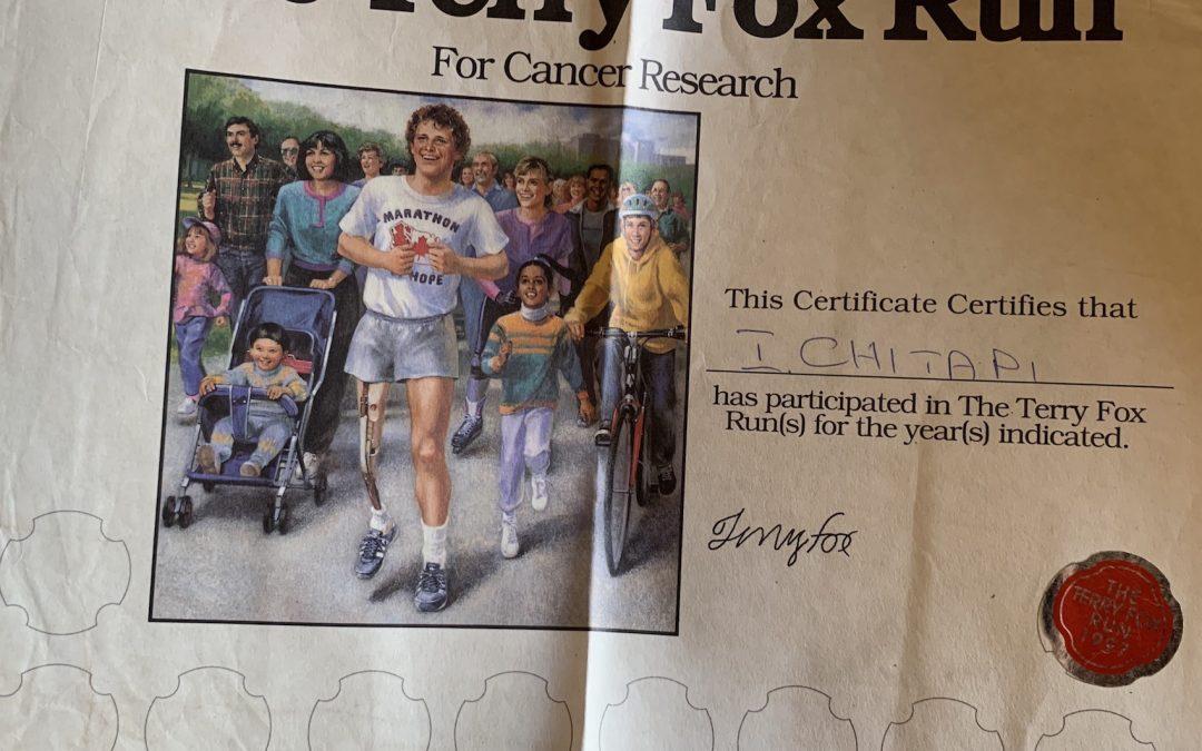BUDKIWAC #2 — Terry Fox